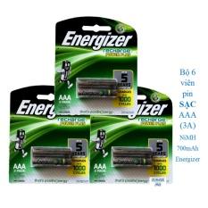 Bán Bộ 6 Vien Pin Sạc Energizer Aaa 3A 700Mah Hồ Chí Minh