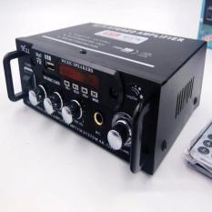Bộ Âm Ly Khuếch Đại Âm Thanh HiFi 180W+180W 12VDC-220VAC