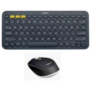 Bộ bàn phím bluetooth Logitech K380 và chuột bluetooth Logitech M337 (Đen) - Hãng Phân phối chính thức thumbnail
