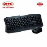 Bộ bàn phím và chuột có dây Bosston S6600 - cổng USB (Đen)