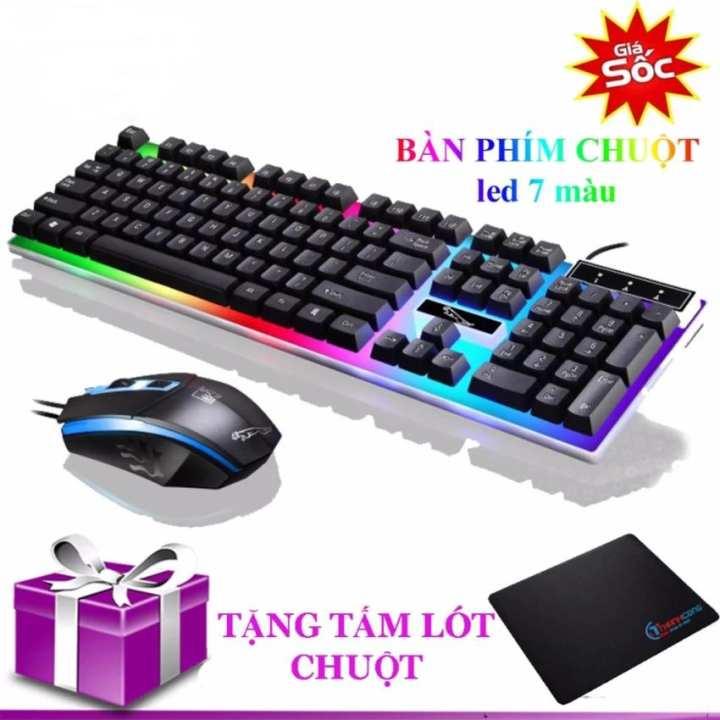 Bộ bàn phím và chuột G21 chuyên Game Led Tặng miếng lót chuột