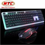 Bộ bàn phím và chuột led chuyên game Limeide T11 led đa màu (Đen)