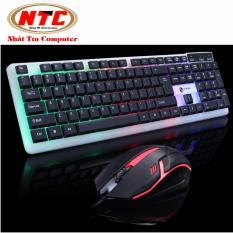 Hình ảnh Bộ bàn phím và chuột led chuyên game Limeide T11 led đa màu (Đen)