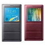 Bộ Bao Da S View Galaxy Note 4 Xam Va Bao Da Samsung Note 4 Galaxy S View Đỏ Đun Samsung Rẻ Trong Vietnam