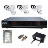 Mua Bộ Camera Ahd J Tech 5600 3 Camera 01 Đầu Ghi 4 Kenh 01 Hdd 500Gb Rẻ