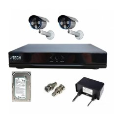 Bán Bộ Camera Ahd J Tech 5602 2 Camera 1 Đầu Ghi 4Ch 1 Hdd 250Gb Trực Tuyến