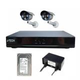 Giá Bán Bộ Camera Ip J Tech 5602 2 Camera 1 Đầu Ghi Ip 4Ch 1 Hdd 250Gb Nguyên