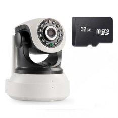 Mua Bộ Camera Ip Wifi Sip6300 Giam Sat Bao Động Va Thẻ Nhớ 32Gb Trắng Camera Trực Tuyến