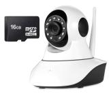 Mua Bộ Camera Quan Sat Ip Wifi Vinatech Vn 6300A Va Thẻ Nhớ 16Gb Trắng