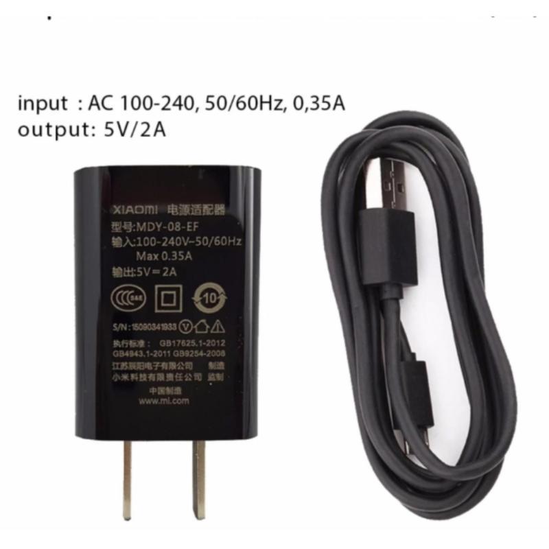 Bộ cáp và sạc xiaomi 5V-2A ( cáp micro USB)