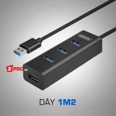 Hình ảnh Bộ chia 4 cổng HUB USB 3.0 4 Port Unitek Y-3089 1.2m