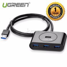 Hình ảnh Bộ chia 4 cổng USB 3.0 Ugreen CR113 (Đen) - Hàng công ty