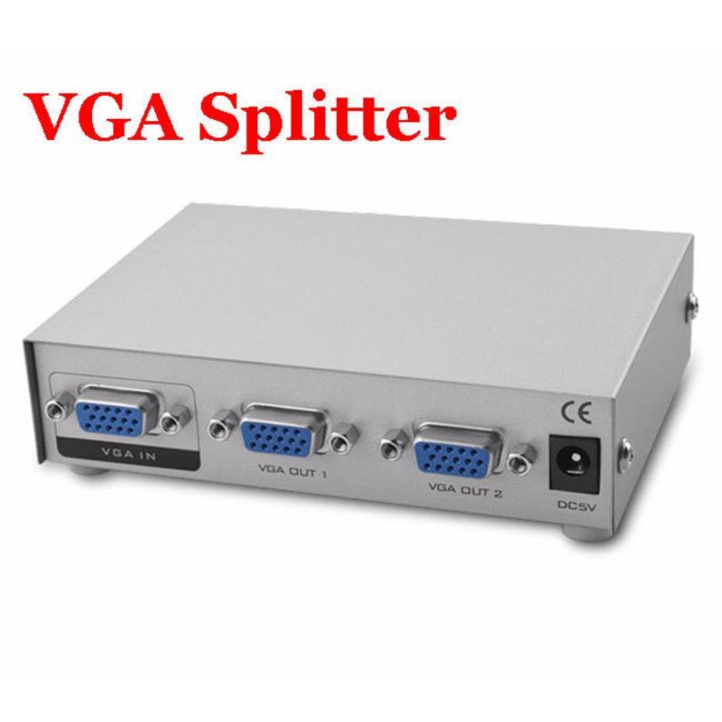 Bảng giá Bộ chia màn hình VGA SPlitter 1 ra 2 (Trắng) Phong Vũ