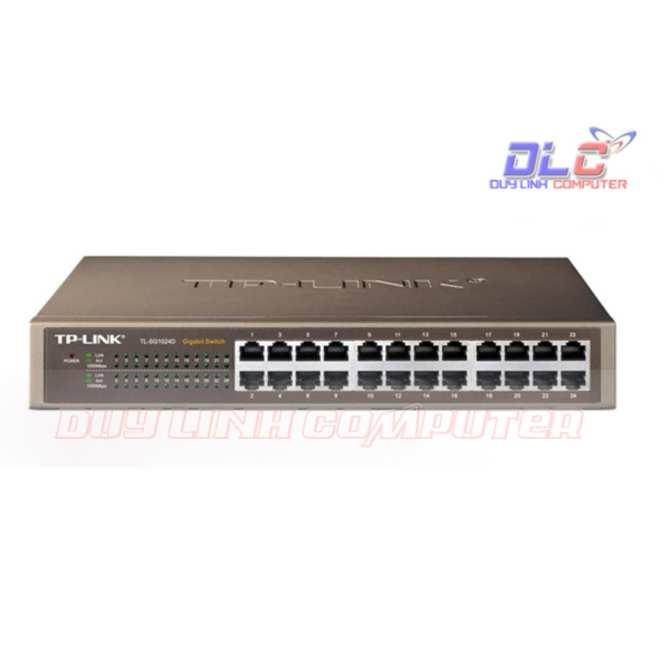 Hình ảnh Bộ chia mạng Switch 24 cổng TP Link TL-SF1024D
