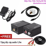 Cửa Hàng Bộ Chuyển Am Thanh Tv 4K Quang Optical Sang Audio Av Ra Amply Cap Optical Day Av 4 Đầu Bong Sen Hồ Chí Minh