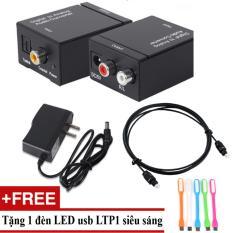 Ôn Tập Tốt Nhất Bộ Chuyển Am Thanh Tv 4K Quang Optical Sang Audio Av Ra Amply Cap Optical 1M Tặng Đen Led Usb