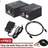 Mã Khuyến Mại Bộ Chuyển Am Thanh Tv 4K Quang Optical Sang Audio Av Ra Amply Cap Optical 1M Tặng Cap Av Oem Mới Nhất
