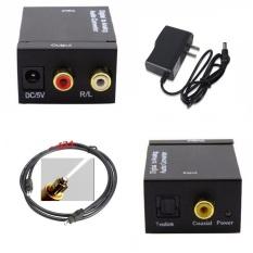 Mã Khuyến Mại Bộ Chuyển Đổi Converter Quang Sang Am Thanh Toslink Coaxial To Audio R F Tặng Cap Quang Am Thanh Toslink Optical 1 5M Toslink Mới Nhất