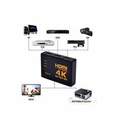 Bán Bộ Chuyển Đổi Hdmi 4K Switch 3 Port 3 Đầu Hdmi Vao Va 1 Đầu Hdmi Ra Đen Hà Nội