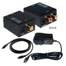 Hình ảnh Bộ chuyển đổi tín hiệu âm thanh Smart tivi sang Loa, Amply ( đen )