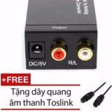 Ôn Tập Bộ Chuyển Đổi Tin Hiệu Quang Sang Av Rca R L Audio Tặng Kem Day Quang Totslink Trong Hà Nội
