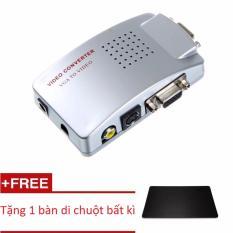 Bộ Chuyển Đổi Vga Vi Tinh Sang Av Pc To Tv Converter Ban Di Chuột Mới Nhất
