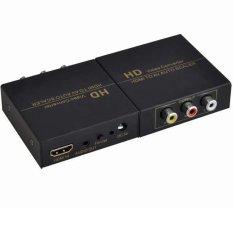 Bán Bộ Chuyển Hdmi Sang Av Audio Video Convert Fj Ha1308 Đen None Rẻ