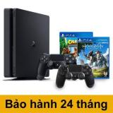 Ôn Tập Combo May Chơi Game Playstation 4 Slim 500Gb Tặng Kem 2 Game Sony