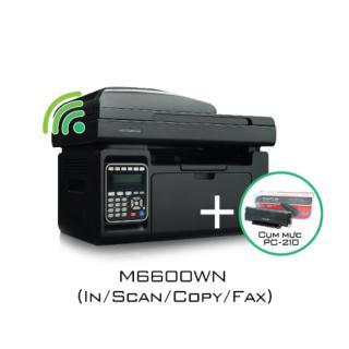 Bộ combo máy in Pantum M6600NW + Mực in 210 thumbnail