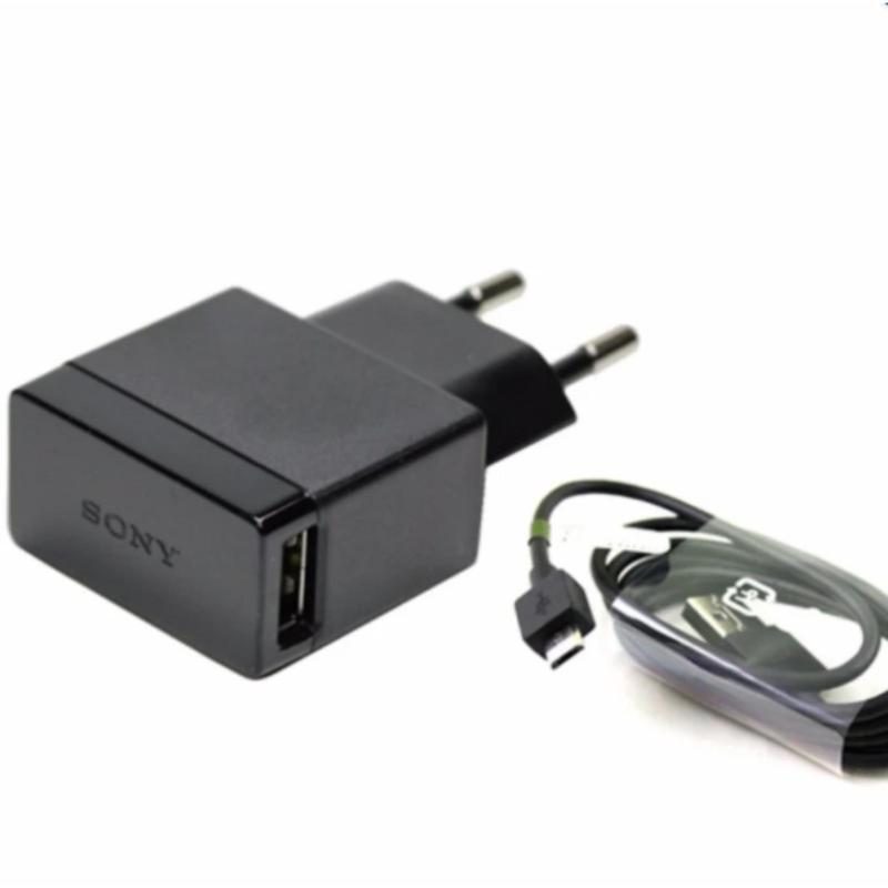 Bộ củ sạc sony EP880 và dây cáp EC803 cho Sony Z5 (Đen)
