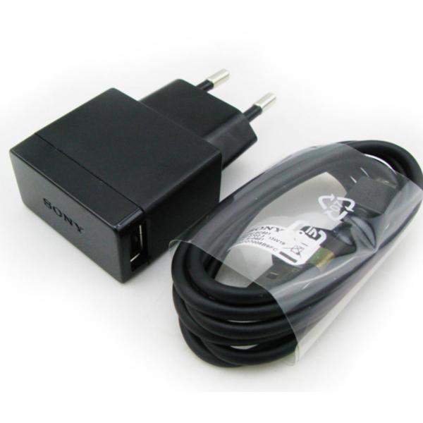 Bộ củ sạc sony EP880 và dây cáp EC803 cho Sony Z5 Premium (Đen)
