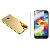 Bán Mua Bộ Dan Kinh Cường Lực Va Ốp Lưng Cho Samsung Galaxy A3 Gương Vang