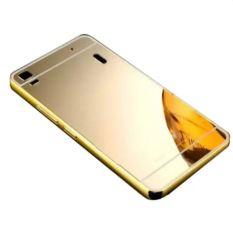 Giá Bán Bộ Dan Kinh Cường Lực Va Ốp Lưng Glass Cho Lenovo A7000 Gương Vang Mới