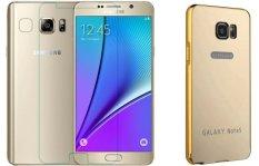 Giá Bán Bộ Dan Kinh Cường Lực Va Ốp Lưng Samsung Galaxy Note 5 Gương Vang Mới Nhất