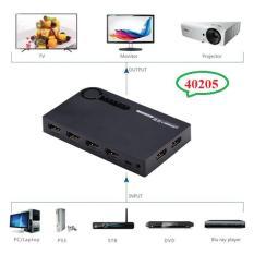 Hình ảnh Bộ gộp HDMI 5 vào 1 ra hỗ trợ 3D full HD 4K Ugreen UG-40205