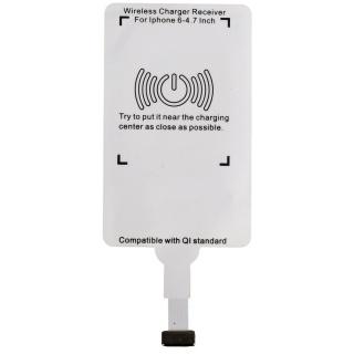 [HCM]Bộ hỗ trợ sạc không dây cổng Lightning cho iPhone Wireless Charger (Trắng) thumbnail