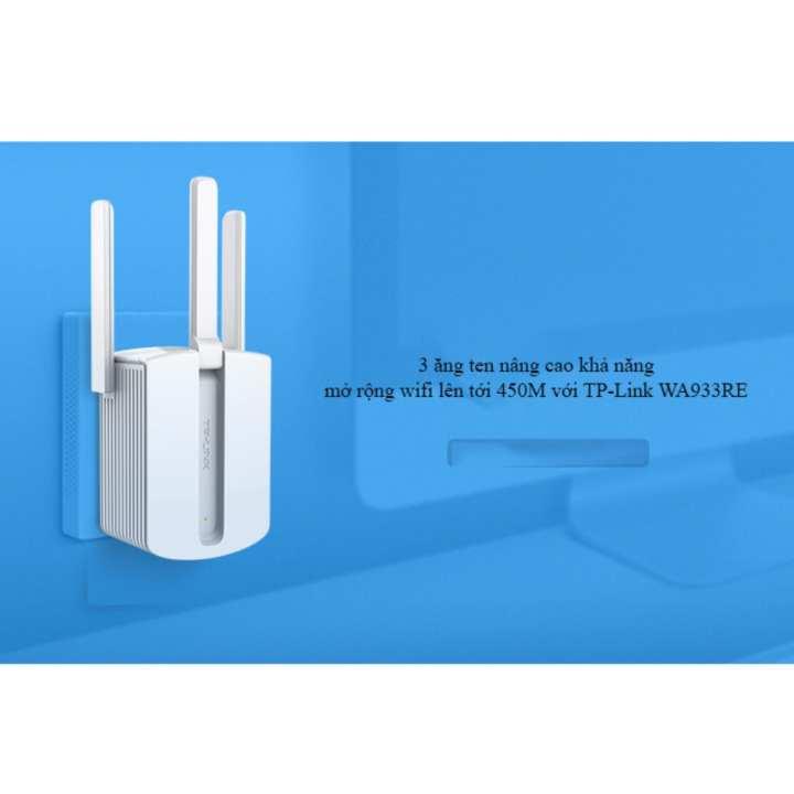 Bộ kích sóng wifi không dây 3 râu ( Wireless 450M ) TP-Link loại tốt