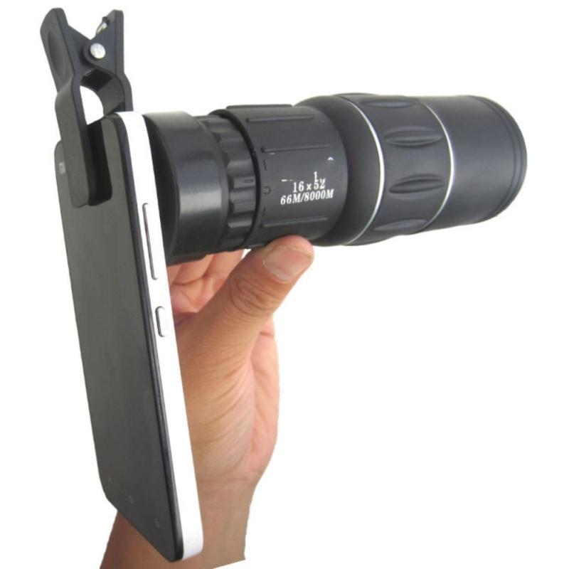 Bộ Lens 3 In 1 Cho Mọi Smartphone, Lens gắn điện thoại NA002, Cách Chụp ảnh Làm Mờ Hậu Cảnh - Ống Nhòm Một Mắt Nhìn Xa, Rõ, Nhỏ Gọn, Giá Tốt