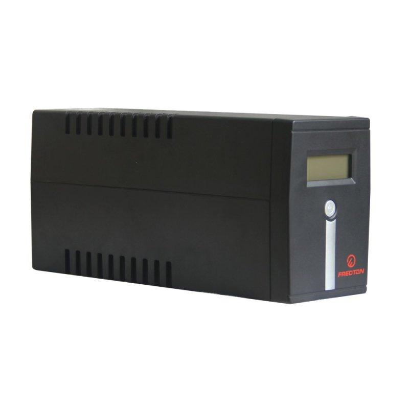 Bảng giá Bộ lưu điện UPS Fredton Line-Interactive UPS/LCD/USB/600 VA (đen) Phong Vũ