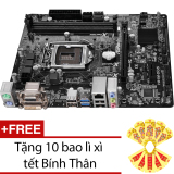 Ôn Tập Bo Mạch Chủ Asrock H81M Dgs Tặng 10 Bao Li Xi Tết Binh Than
