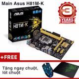 Giá Bán Bo Mạch Chủ Mainboard Asus H81M K Chuột Lot Chuột Asus Mới
