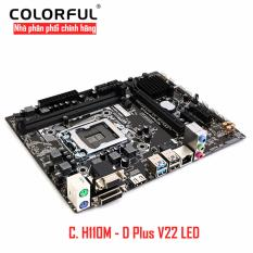 Hình ảnh Bo mạch chủ Mainboard Colorful C. H110M - D Plus V22 LED