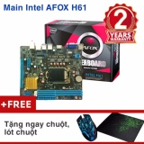 Bo Mạch Chủ Mainboard Intel Afox H61 Chuột Lot Chuột Trong Hồ Chí Minh