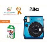 Giá Bán Bộ May Ảnh Chụp Lấy Ngay Fujifilm Instax Mini 70 Xanh Tặng Hộp Film Instax Mini 10 Tấm Fujifilm