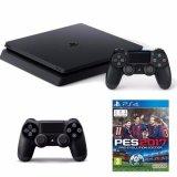Bán Mua Bộ May Chơi Game Sony Playstation 4 Slim 500Gb Đen Đĩa Game Pes 2017 Va Tay Cầm Mới Hà Nội