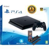 Mua Bộ May Chơi Game Sony Playstation 4 Slim 500Gb Đen Tặng Kem Đế Tản Nhiệt Sạc Tay Cầm Cao Cấp Trực Tuyến Rẻ