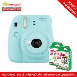 Ôn Tập Tốt Nhất Bộ May Chụp Ảnh Lấy Ngay Fujifilm Instax Mini 9 Ice Blue Xanh Nhạt Tặng Kem 20 Tấm Giấy In Fujifilm Hang Phan Phối Chinh Thức
