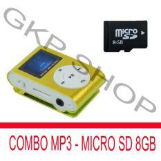 Giá Bán Bộ May Nghe Nhạc Mp3 Lcd Vuong Nau Thẻ Nhớ Microsdhc 8Gb Peepvn Đen Peepvn Combo003 Rẻ