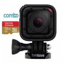 Hình ảnh Bộ Máy quay hành động Camera Gopro Hero Session + Thẻ nhớ Micro SDHC Sandisk Ultra 32G.