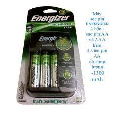 Giá Bán Bộ May Sạc Pin Aa Aaa Kem 4 Vien Pin Sạc Aa 1300 Mah Energizer Rẻ